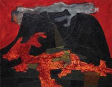OSWALDO GUAYASAMÍN (1919-1999) | Paisaje de Quito