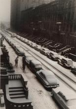 RUTH ORKIN | Cars in Snow, West 88th Street,New York City