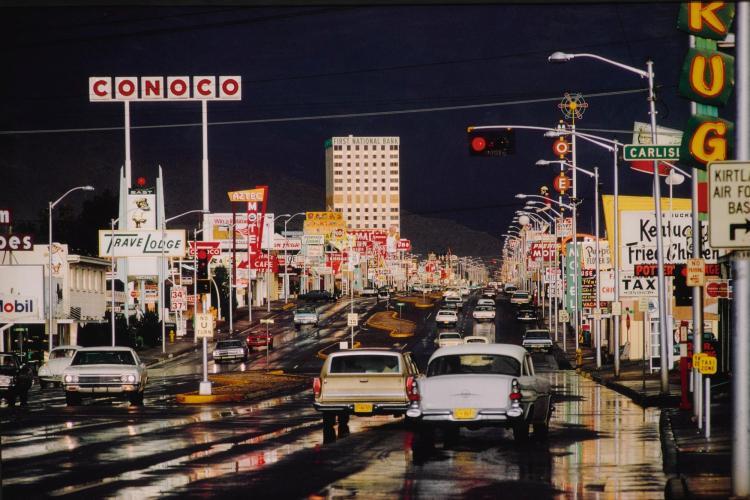 ERNST HAAS | Route 66, Albuquerque, N.M.