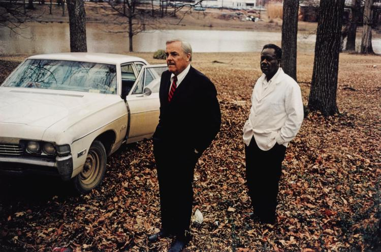 WILLIAM EGGLESTON | Untitled (Sumner, Mississippi, Cassidy Bayou in the Background)