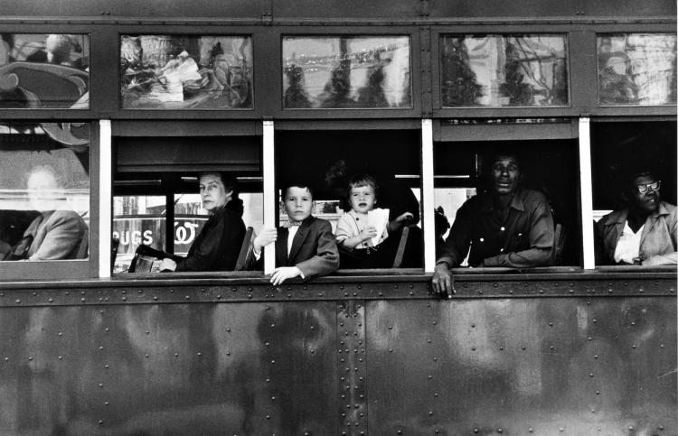 ROBERT FRANK | New Orleans (Trolley)
