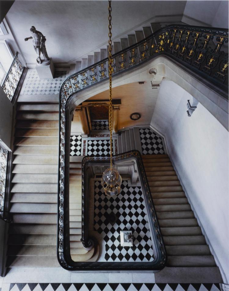 ROBERT POLIDORI | 'Questel Staircase, Château de Versailles'