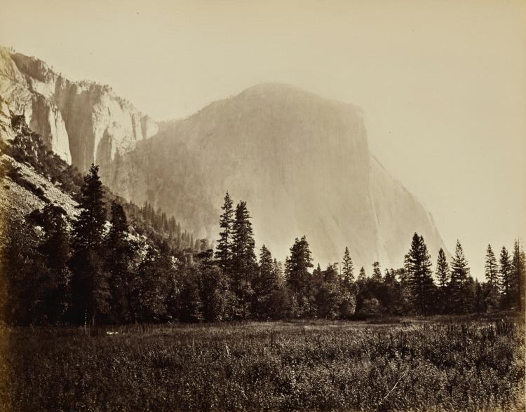 CARLETON E. WATKINS | 'El Capitan 3600 ft.' (Yosemite Valley)