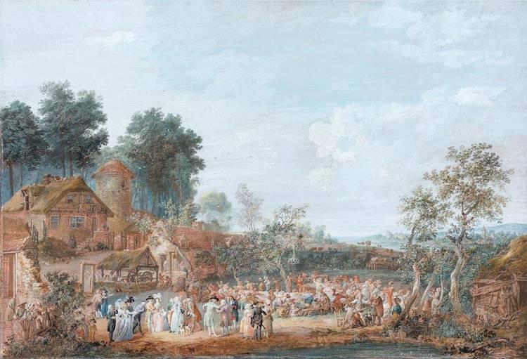 * LOUIS-NICOLAS VAN BLARENBERGHE LILLE 1716 - 1794