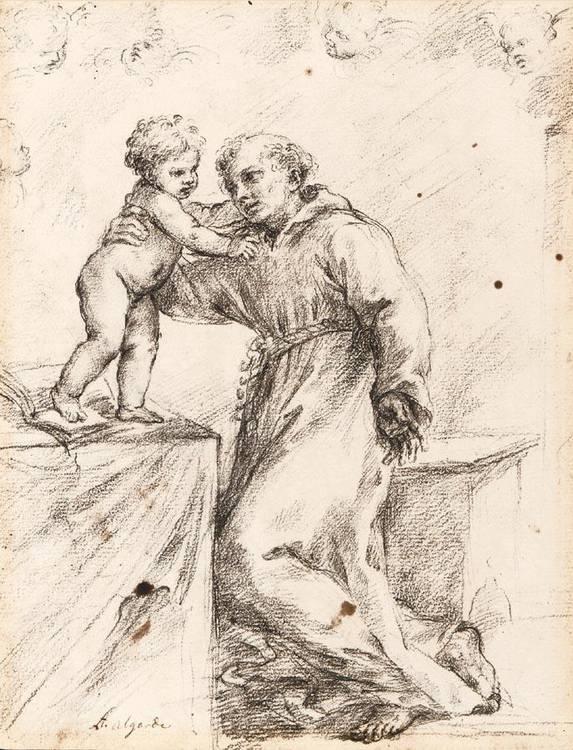 * ALESSANDRO ALGARDI BOLOGNA 1598 - 1654 ROME
