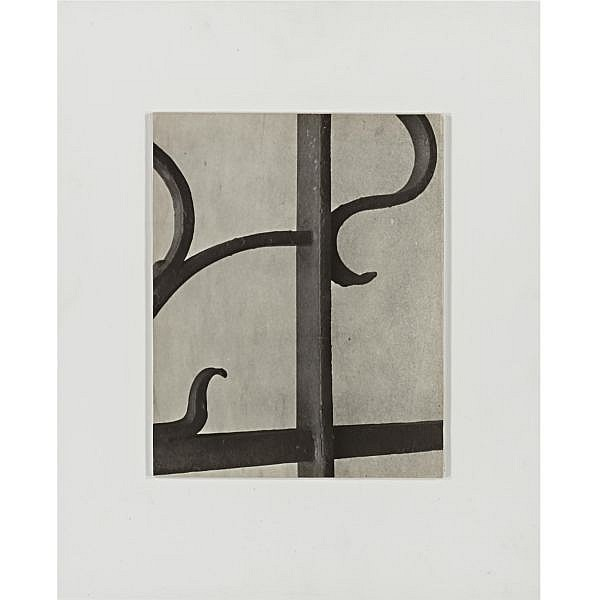 Aaron Siskind 1903-1991 , ironwork, new york city (single vertical bar)