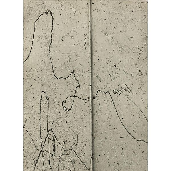 Aaron Siskind 1903-1991 , 'kentucky 15' ( paint on blistered paint)