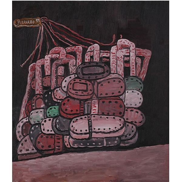 l - Philip Guston , 1913-1980 Night Room oil on canvas