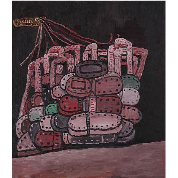 l - Philip Guston , 1913-1980 Night Room oil on canvas