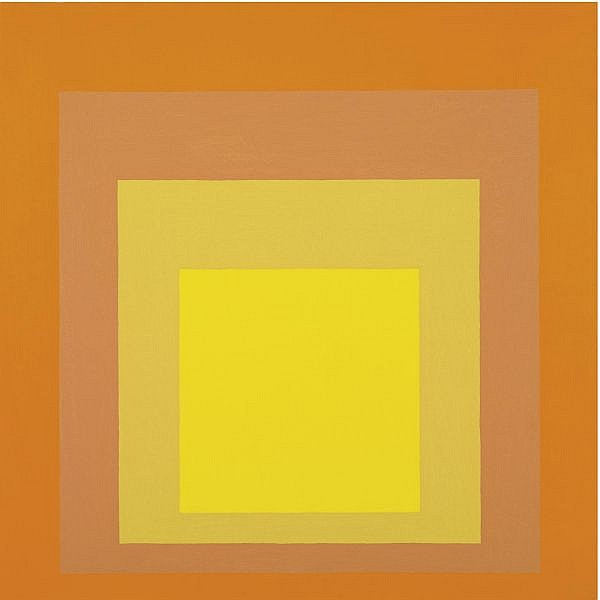 Josef Albers , 1888-1976 Homage to the Square: Joy oil on masonite
