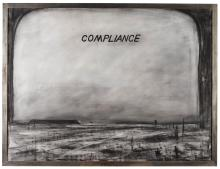 WILLIAM KENTRIDGE | Compliance (Drawing from Sleeping on Glass)