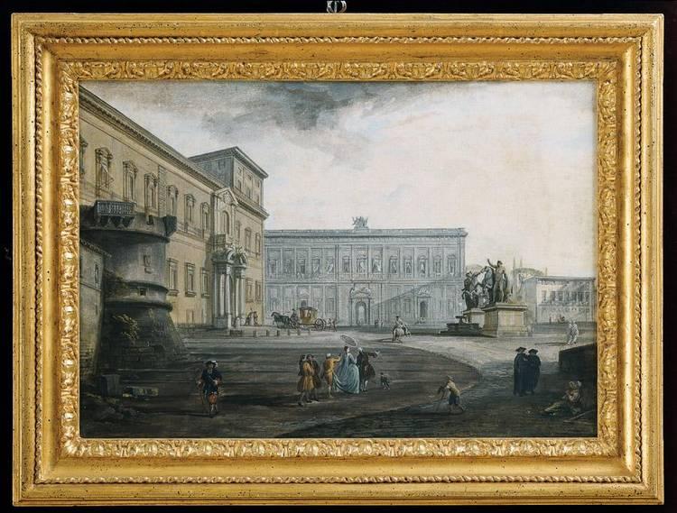 JEAN BAPTISTE LALLEMAND DIJON 1710(?)-1803 CIRCA PARIGI