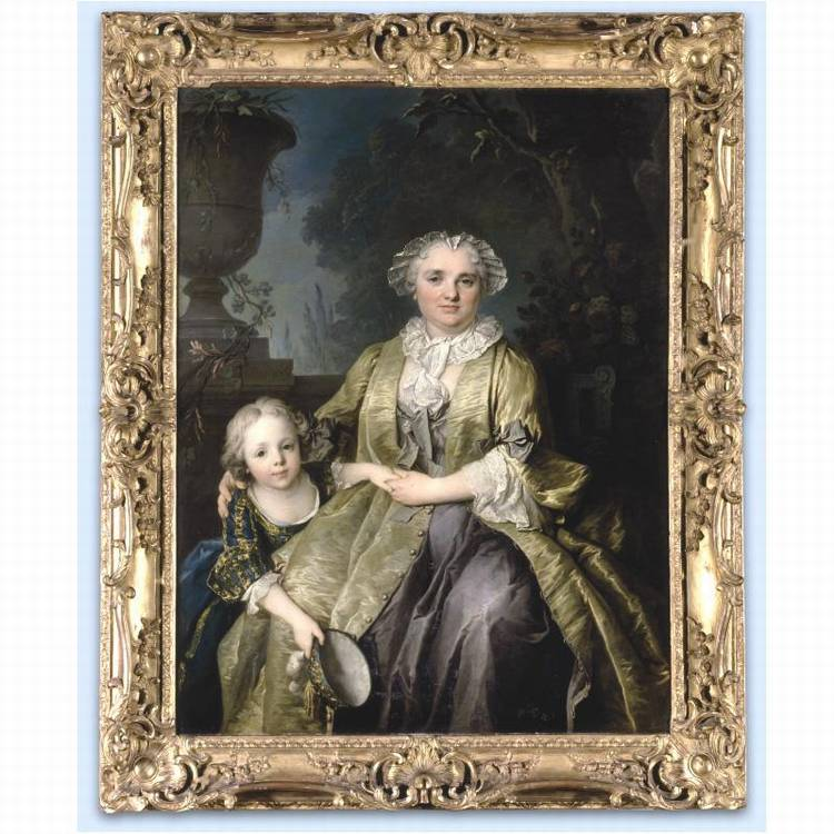 * LOUIS TOCQUÉ PARIS 1696 - 1772