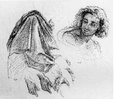 *KARL ERNEST RODOLPHE HEINRICH SALEM LEHMANN (FRENCH, 1814-82) DRAPERY, HAND AND HEAD STUDIES