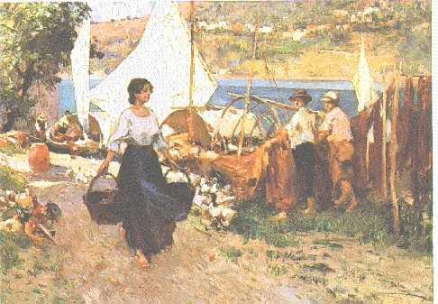 PAOLO SALA (ITALIAN, 1859-1924) THE PRETTY MAID