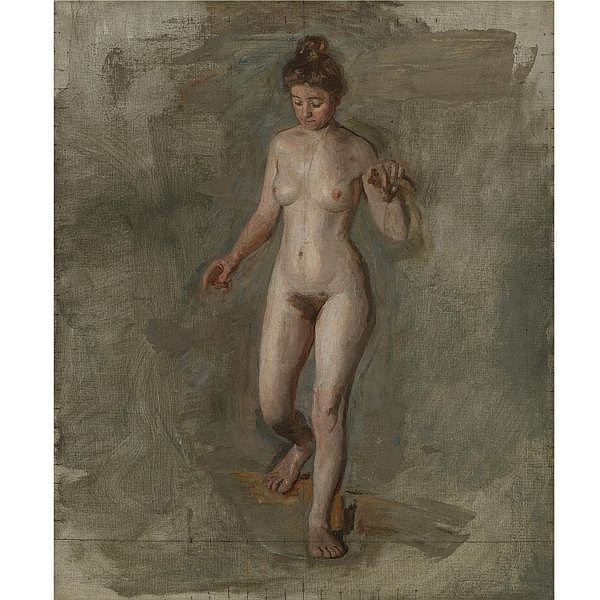 Thomas Eakins 1844-1916 , The Model oil on canvas