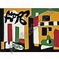 - Stuart Davis 1892-1964 , Rialto oil on board   , Stuart Davis, Click for value
