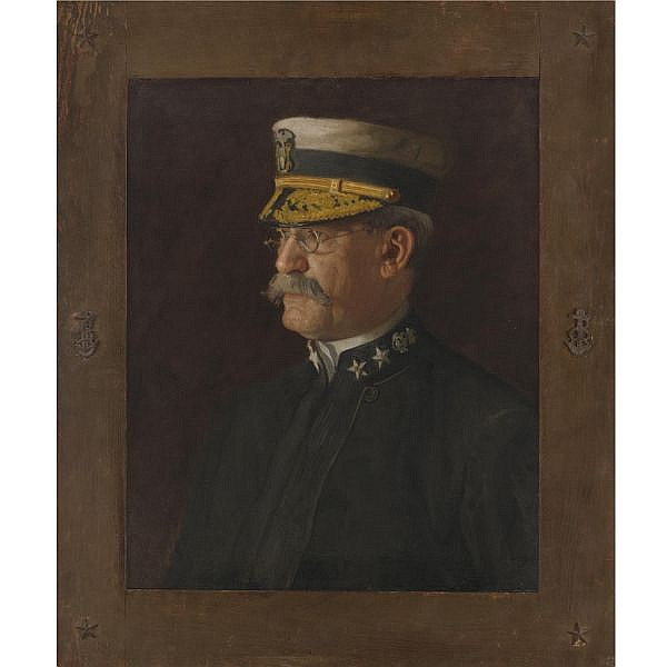 Thomas Eakins 1844-1916 , Rear Admiral Charles Dwight Sigsbee oil on canvas