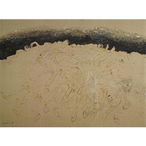 Zoran Antonio Music 1909-2005 , Nous ne sommes pas les derniers acrylic on canvas