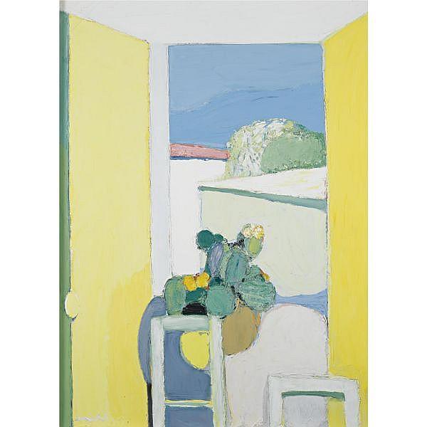 Roger Mühl b.1929 , La Fenêtre ouverte oil on canvas