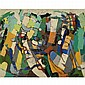 Claude Vénard 1913-1987 , Abstraction oil on canvas   , Claude Venard, Click for value