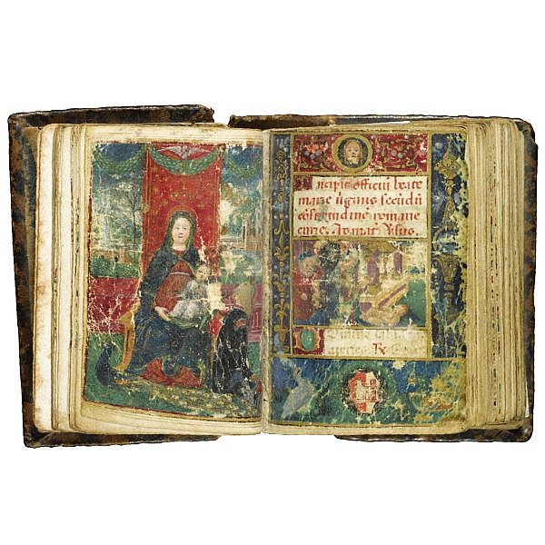 The Vismari Hours, Book of Hours, Use of Rome, in Latin and Italian, illuminated manuscript on vellum