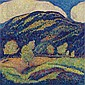 Marsden Hartley 1877-1943 , The Silence of High Noon oil on canvas   , Marsden Hartley, Click for value