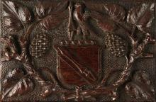 [SHAKESPEARE]--MARSHALL, WOODEN CASKET CARVED FROM SHAKESPEARE'S MULBERRY TREE, 19TH CENTURY
