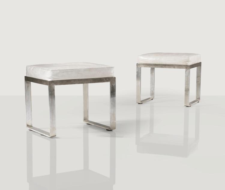 ECKART MUTHESIUS   Pair of stools, circa 1930
