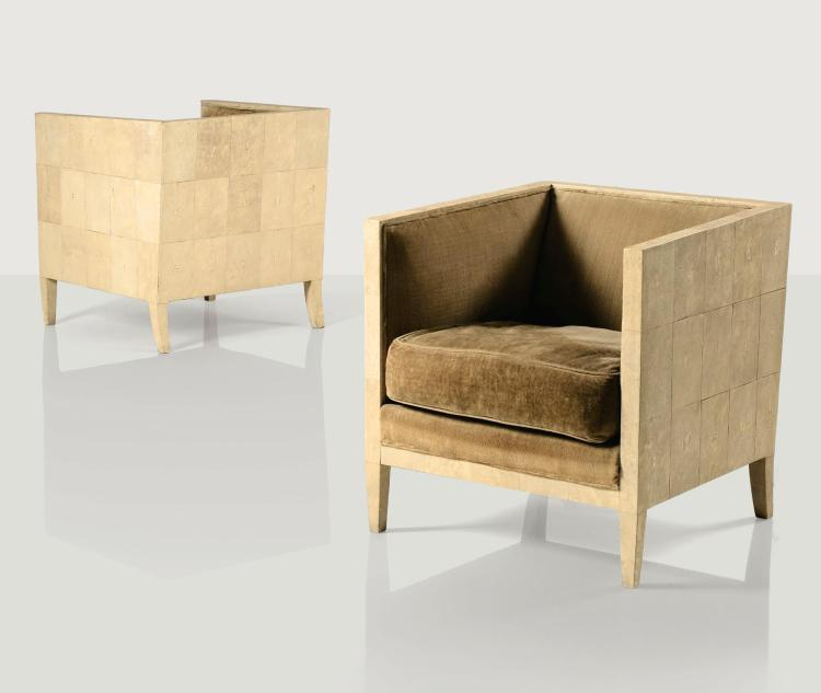 JEAN-MICHEL FRANK | Pair of armchairs, circa 1928