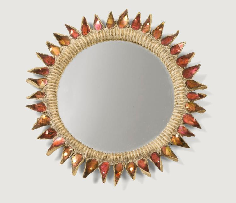 LINE VAUTRIN | Chardon mirror, circa 1955