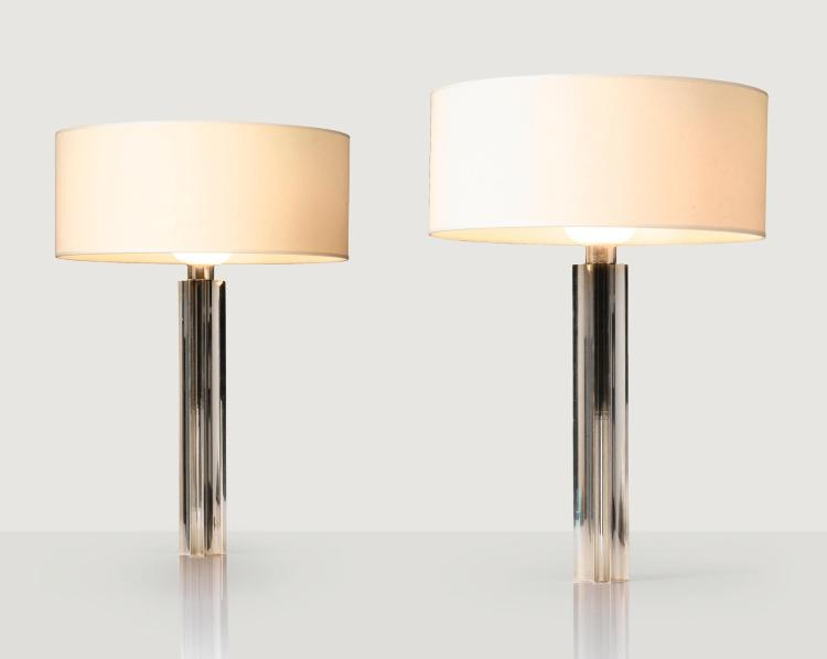 JACQUES QUINET | Pair of table lamps, 1966