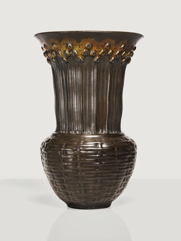 JEAN DUNAND | Vase, circa 1913