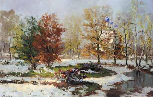 GEORGY ALEXANDROVICH LAPCHINE, 1885-1950
