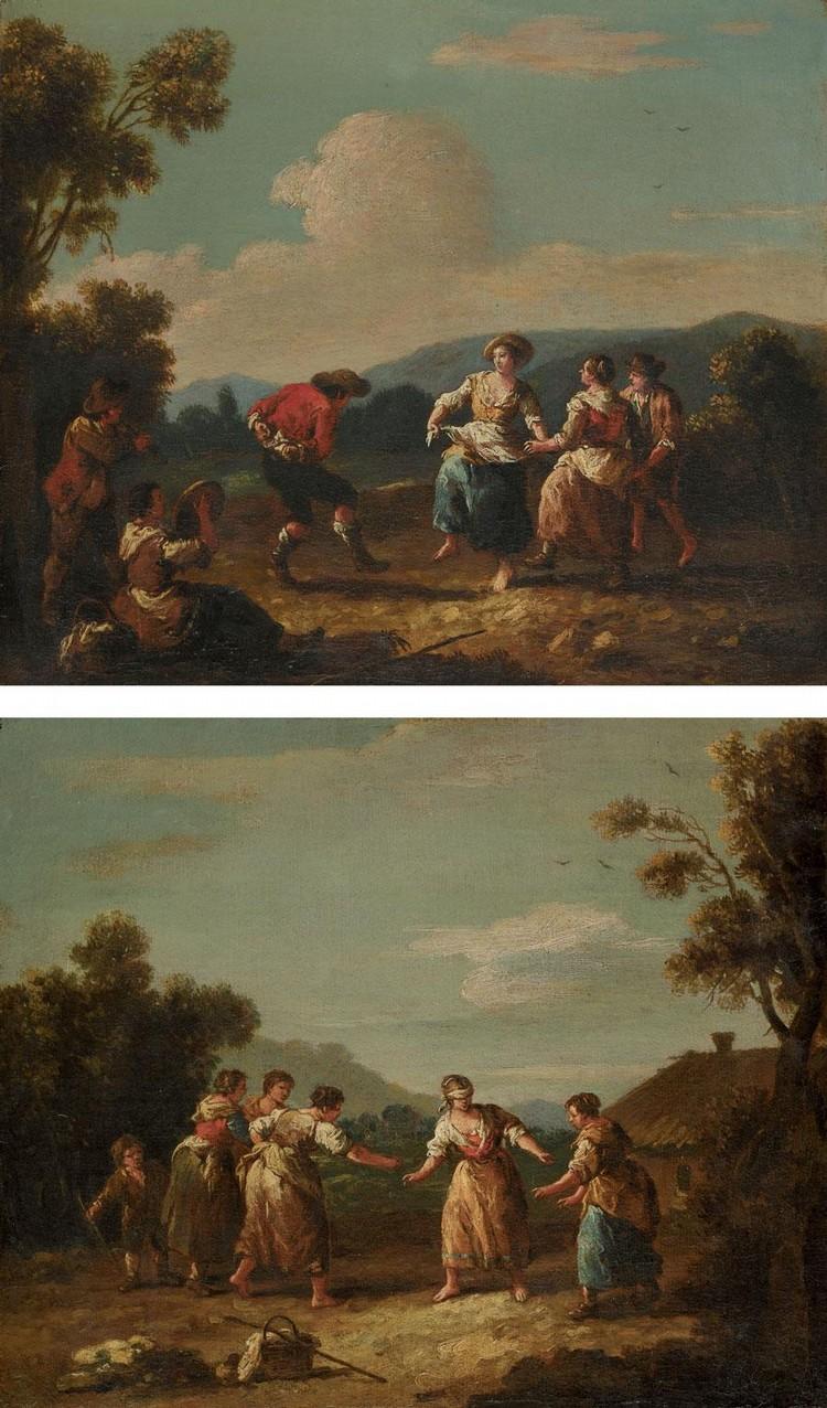 GIUSEPPE ZAIS FORNO DI CANALE (CANALE D'AGORDO) 1709 - 1784 NEAR BELLUNO