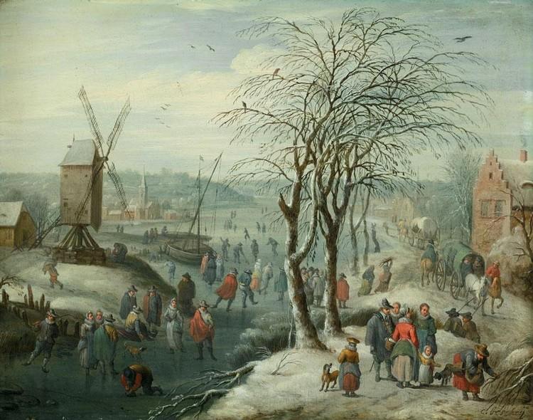 KAREL BESCHEY ANTWERP 1706 - 1770