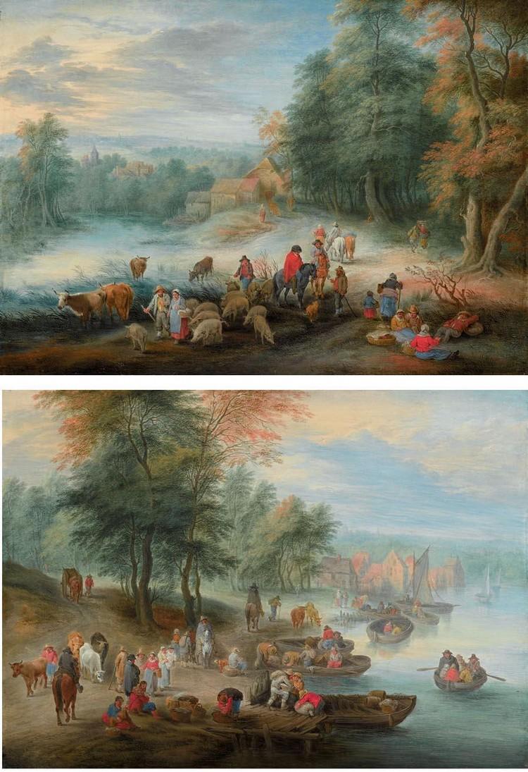 THÉOBALD MICHAU DOORNIK (TOURNAI) 1676 - 1765 ANTWERP