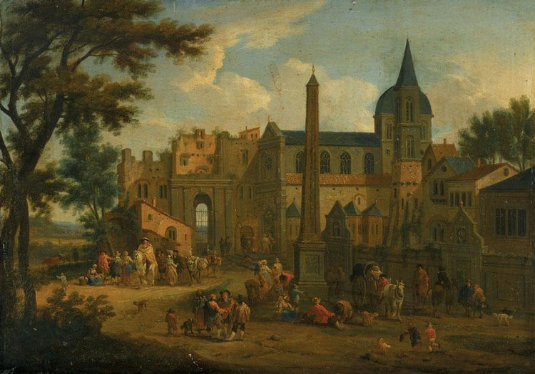 ATTRIBUTED TO MATHYS SCHOEVAERDTS BRUSSELS CIRCA 1665 - 1694 OR 1723