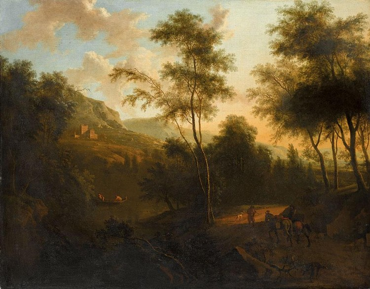 FREDERIK DE MOUCHERON EMDEN 1633 - 1686 AMSTERDAM