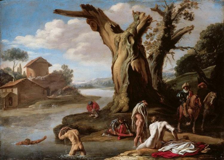 FILIPPO D'ANGELI OR DE LIAGNO, CALLED FILIPPO NAPOLETANO NAPLES OR ROME CIRCA 1587 - 1629 ROME