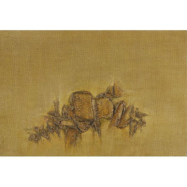 Sohan Qadri (b. 1932) , Untitled Oil on canvas