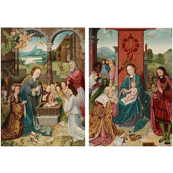 Bartholomäus Bruyn the elder , Wesel or Cologne 1493 - 1555 Cologne 