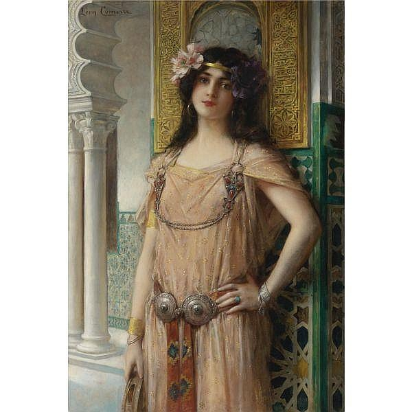 Léon-François Comerre , French 1850-1934 