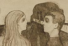 EDVARD MUNCH | Attraction II (W. 20; S. 18)