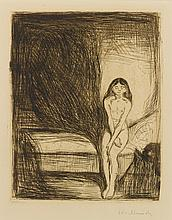 EDVARD MUNCH | Puberty (W. 186; S. 164)