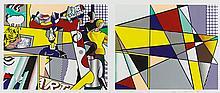 ROY LICHTENSTEIN | Tel Aviv Museum Print (C. 238)