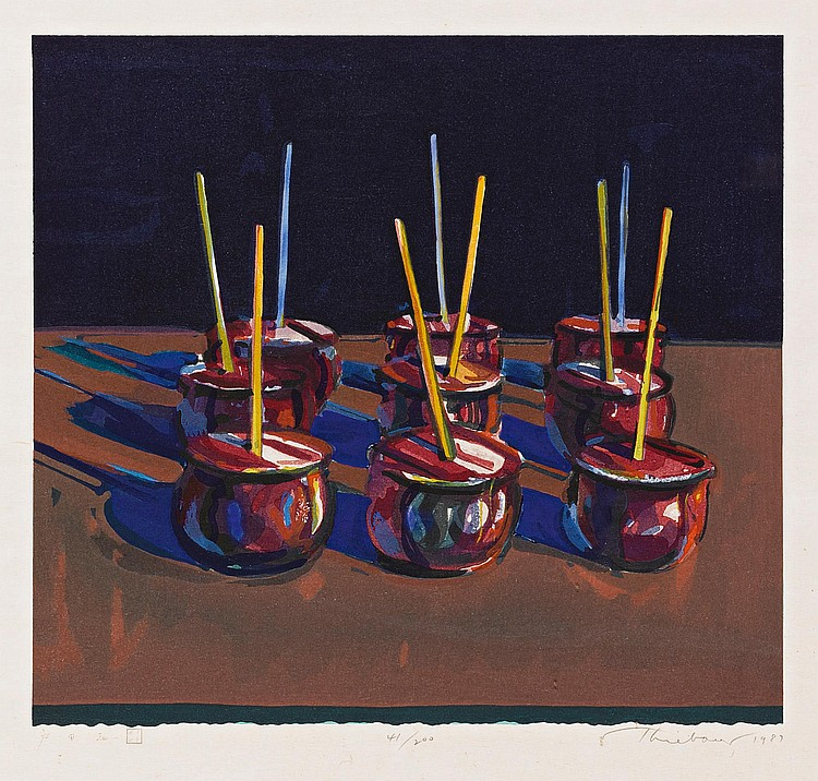 WAYNE THIEBAUD | Candy Apples