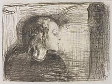 EDVARD MUNCH | The Sick Child I (W. 72; S. 59)