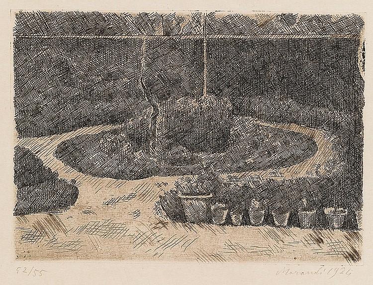 GIORGIO MORANDI | Il giardino di via fondazza (Vitali 25)