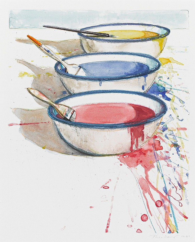 WAYNE THIEBAUD | Paint Pots